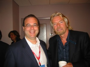 Peter Winick and Richard Branson
