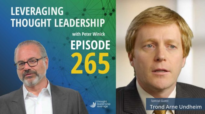 Thought Leadership for the future | Trond Arne Undheim