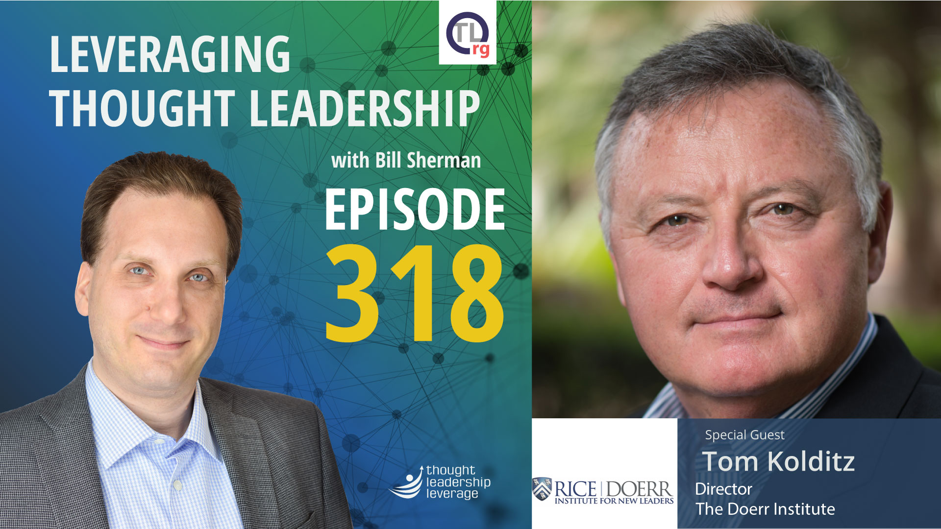 Thought Leadership for building new leaders   Tom Kolditz